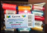 Набор швейных ниток Gamma 30 катушек